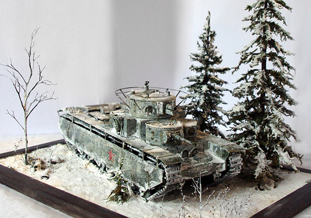 Dioramas and Vignettes: Legend of Red Army