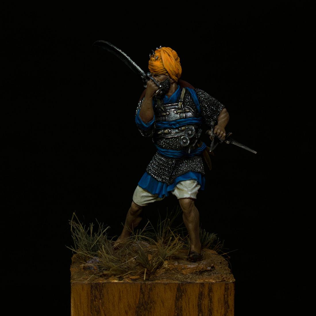 Figures: Sikh warrior, photo #1