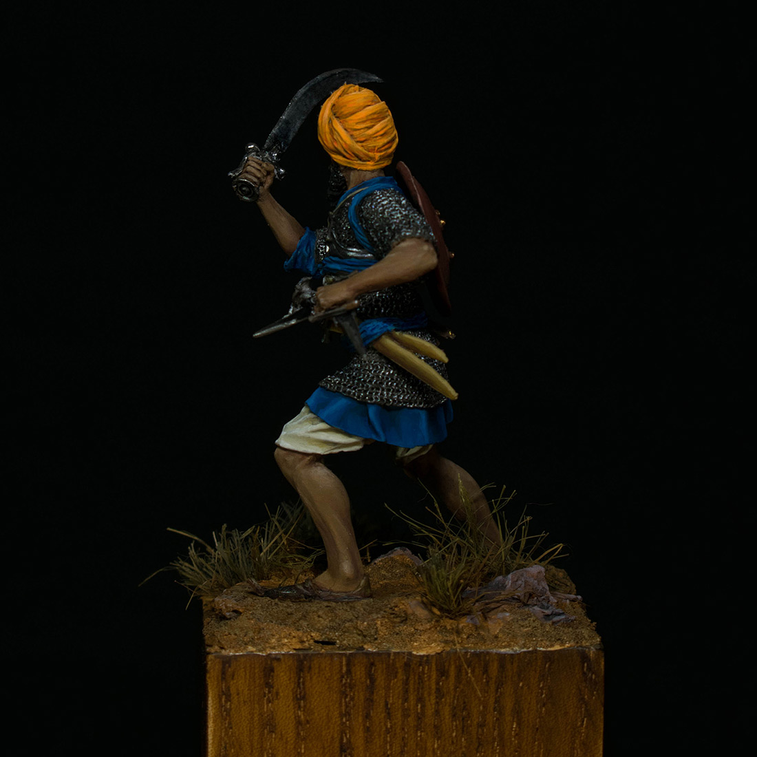Figures: Sikh warrior, photo #3