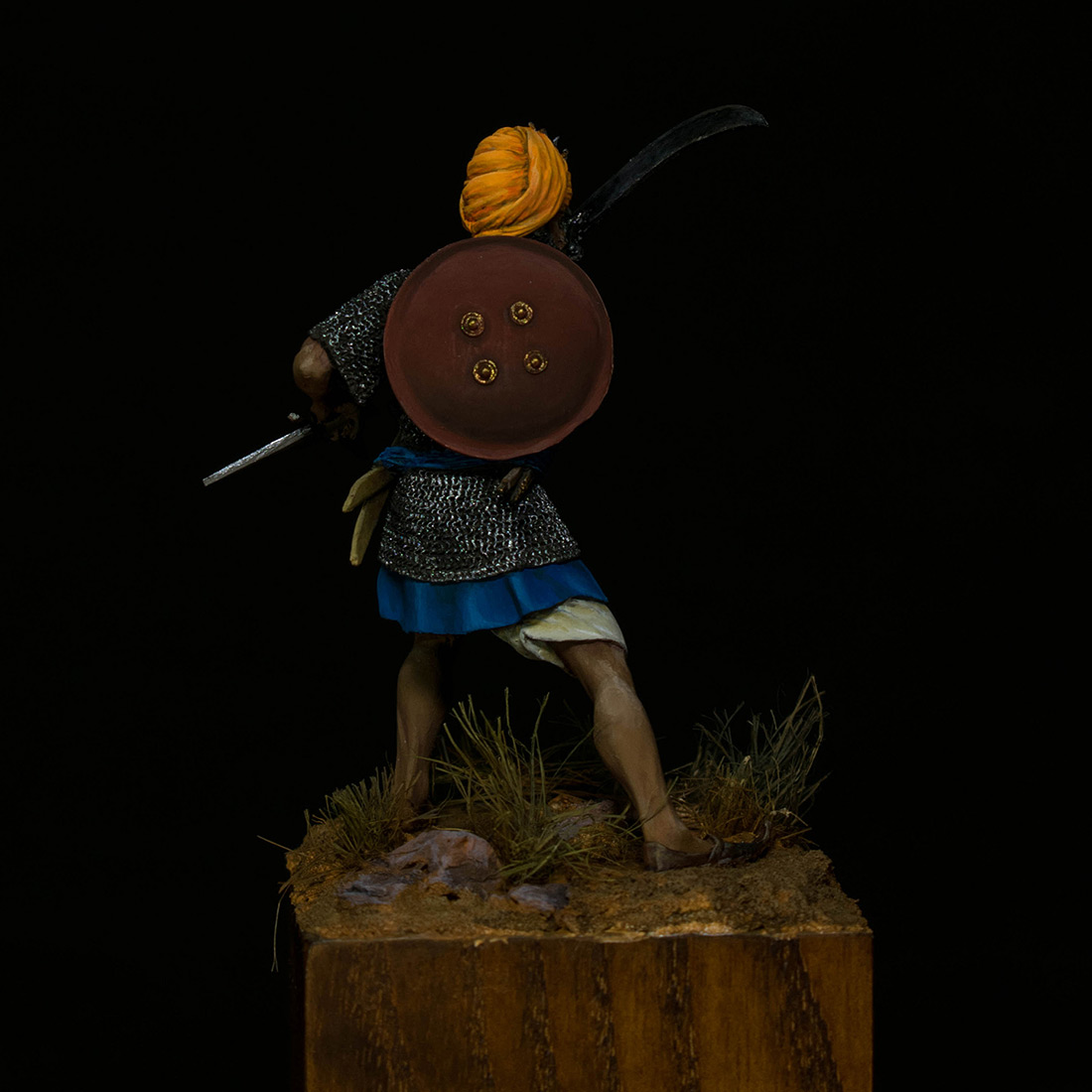 Figures: Sikh warrior, photo #5
