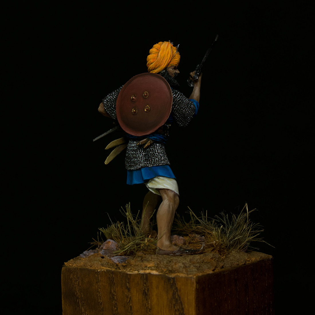 Figures: Sikh warrior, photo #6