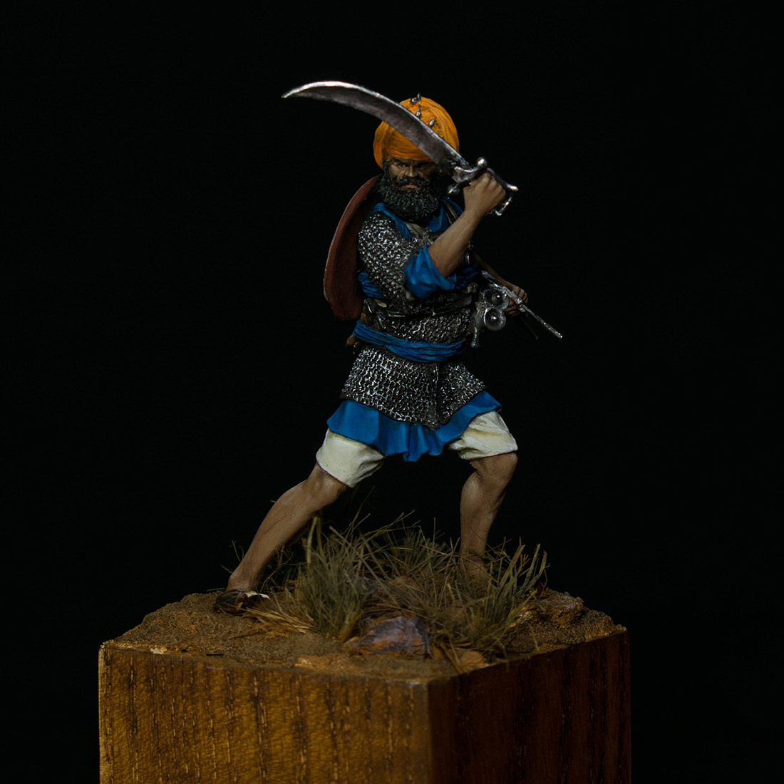 Figures: Sikh warrior, photo #8