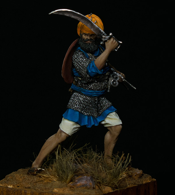 Figures: Sikh warrior