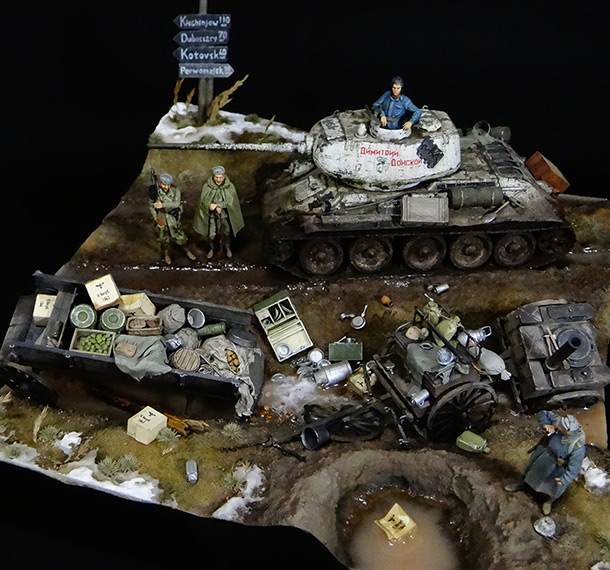 Dioramas and Vignettes: Uman, 1944