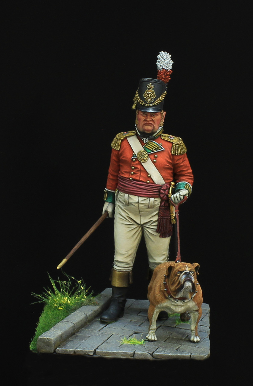 Figures: British infantry officer, photo #1