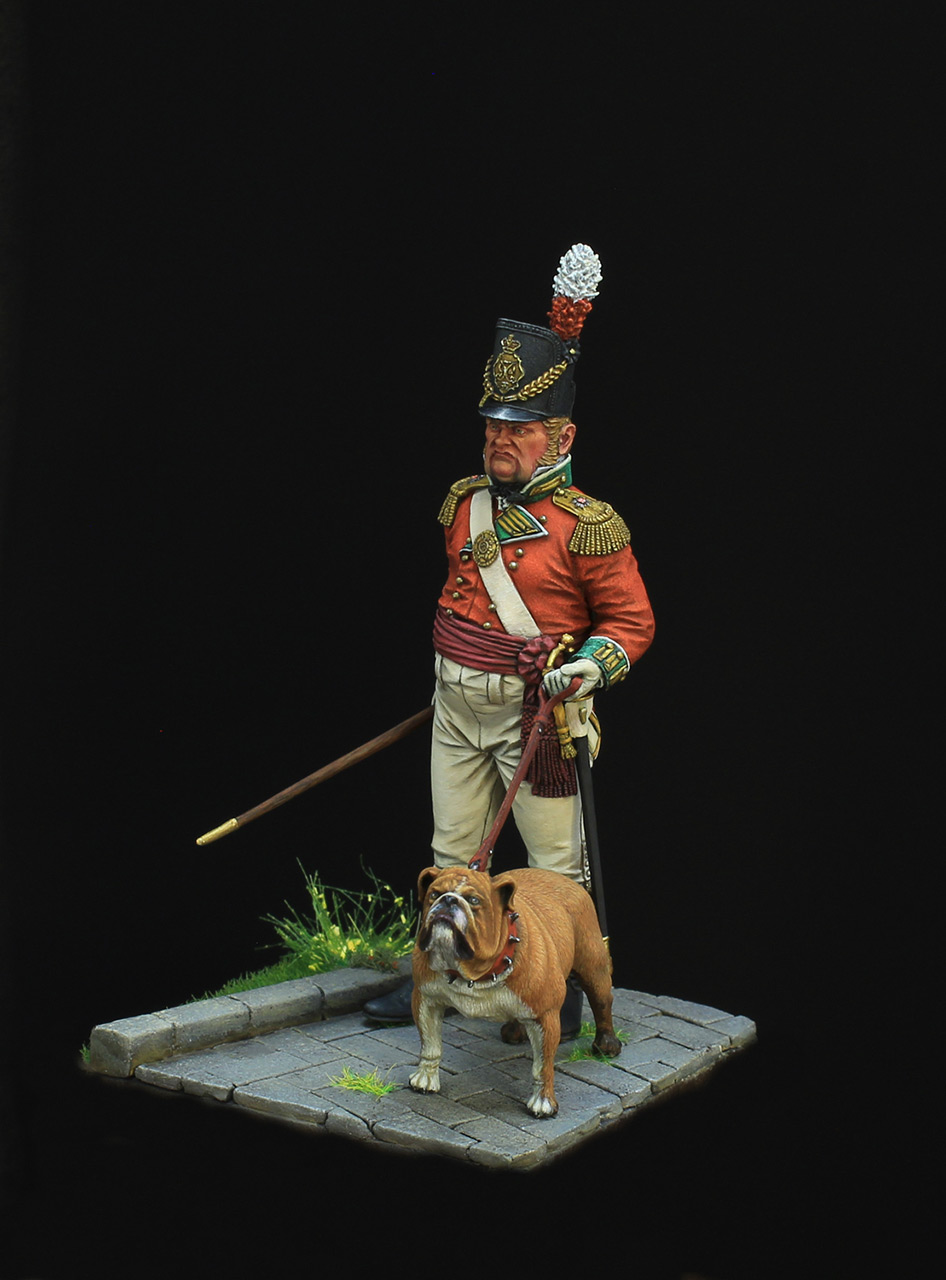 Figures: British infantry officer, photo #2