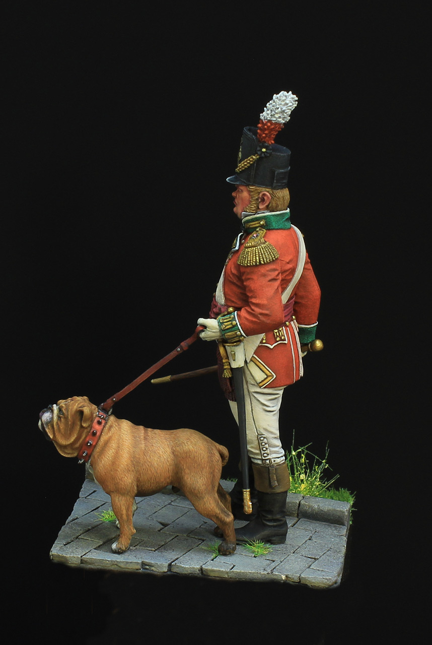 Figures: British infantry officer, photo #3