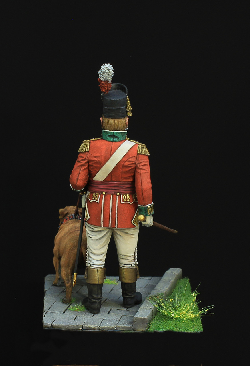 Figures: British infantry officer, photo #5
