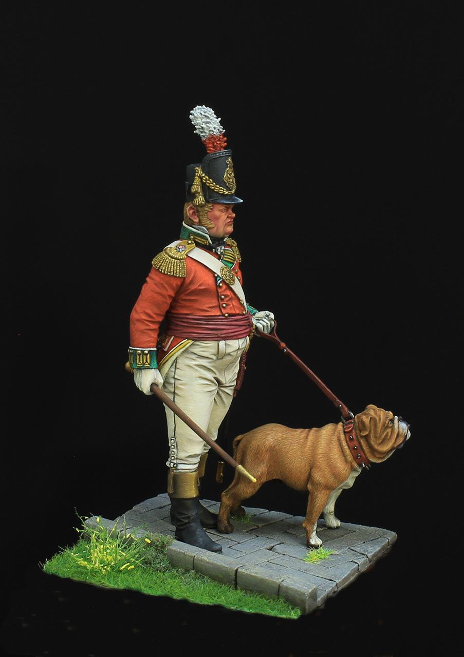 Figures: British infantry officer, photo #6