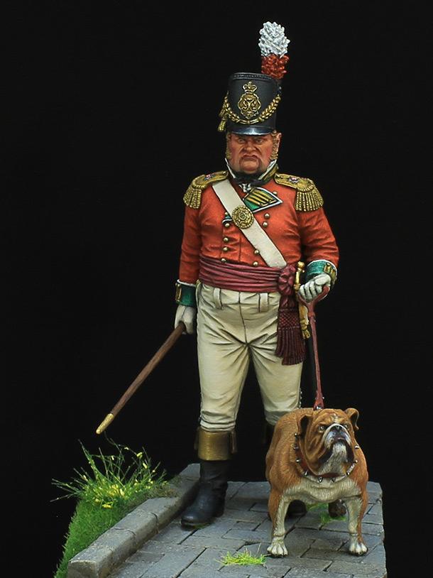 Figures: British infantry officer