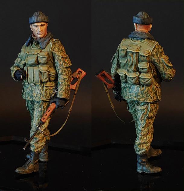 Figures: Modern Russian sniper