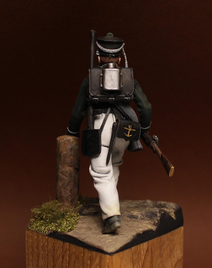 Figures: Sailor of Sea Guards crew, Russia 1813-17, photo #6