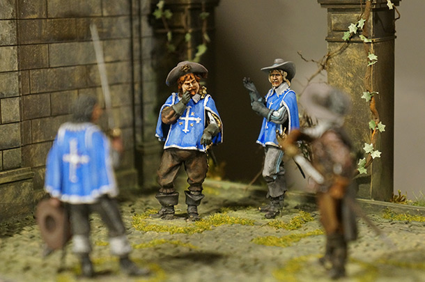 Dioramas and Vignettes: Encounter at monastery