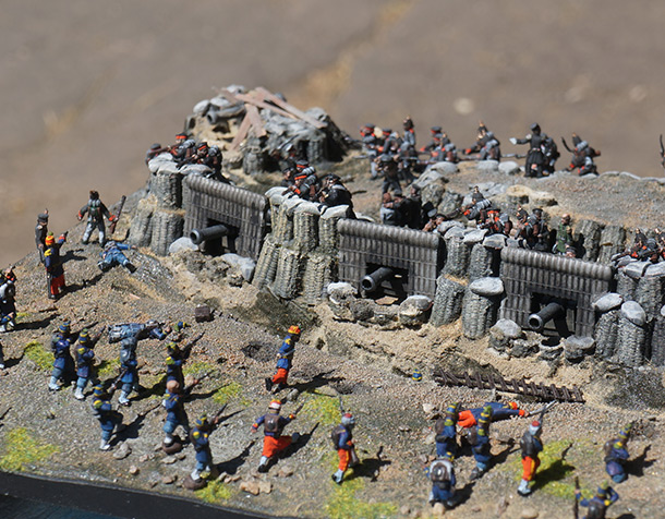 Dioramas and Vignettes: Battery of Senyavin