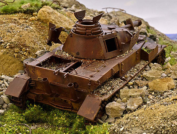 Dioramas and Vignettes: Golan heights. Echoes of Six Days war