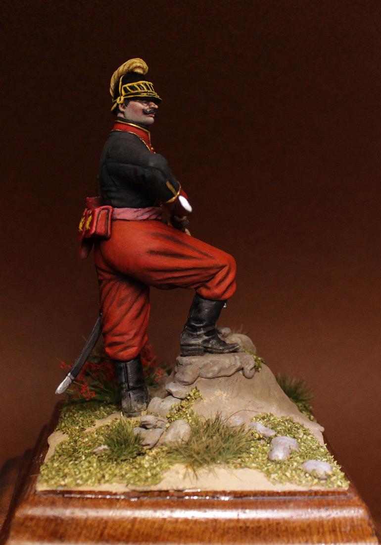 Figures: NCO, 1st btn, Greek infantry regt., 1779-96, photo #4