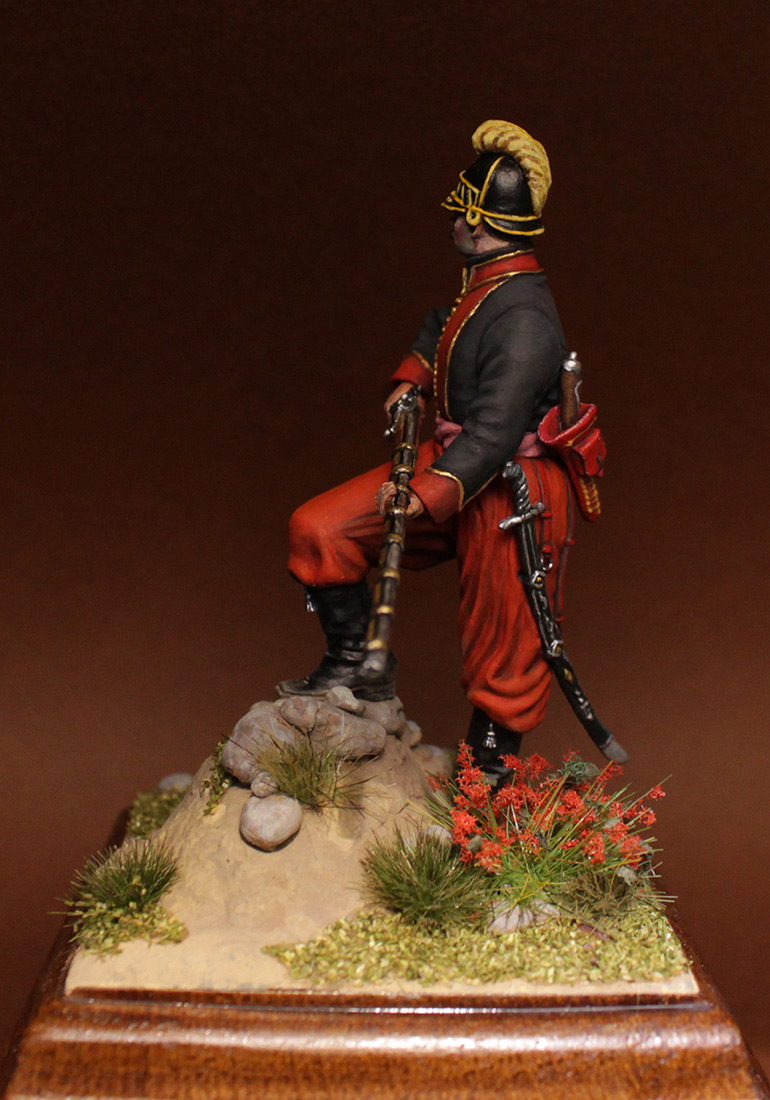 Figures: NCO, 1st btn, Greek infantry regt., 1779-96, photo #8
