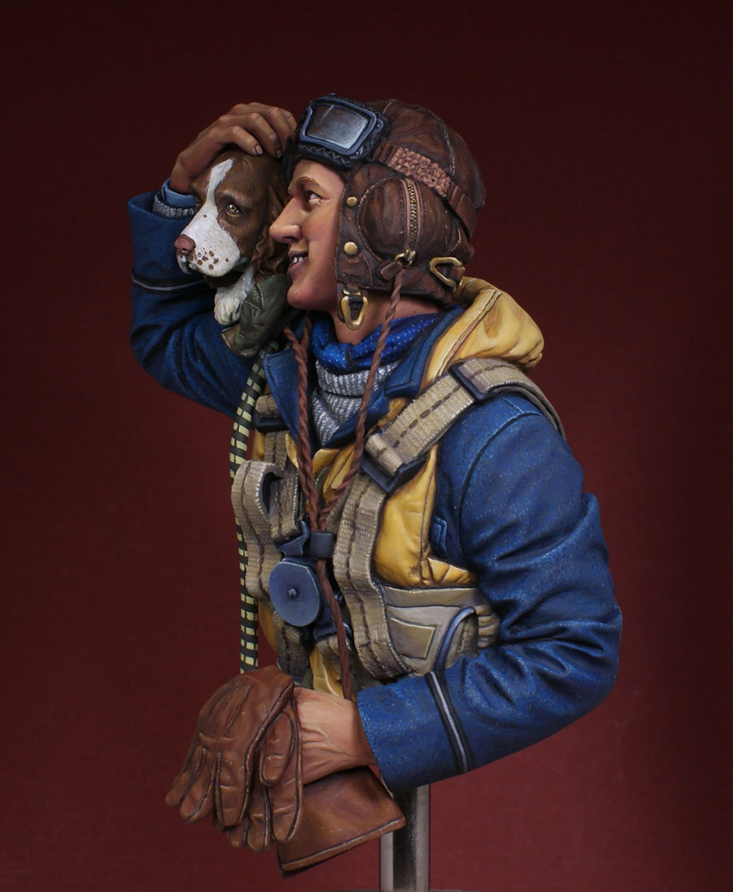 Figures: Fighter pilot. Battle of Britain, photo #2