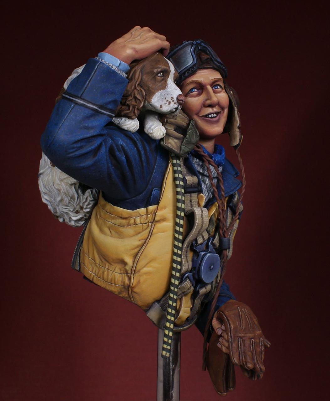 Figures: Fighter pilot. Battle of Britain, photo #5