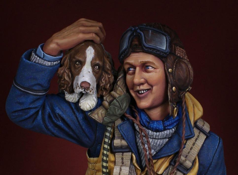 Figures: Fighter pilot. Battle of Britain, photo #8