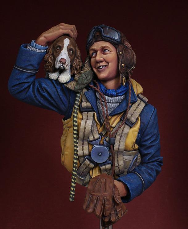 Figures: Fighter pilot. Battle of Britain