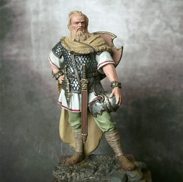 Figures: Marcomanic noble warrior, 1-2A.D.