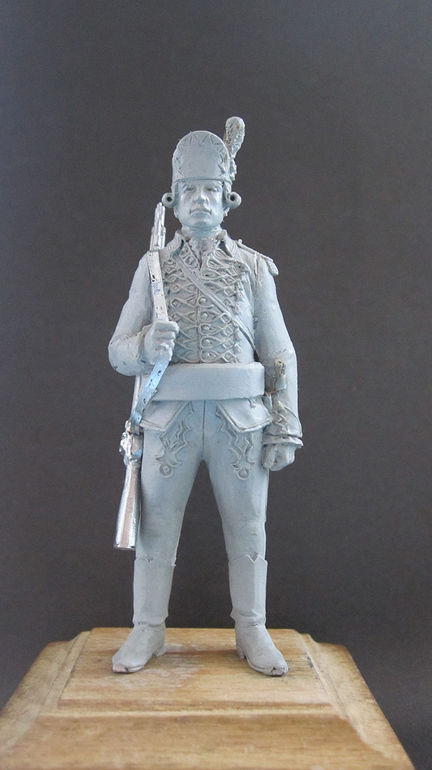 Sculpture: Chasseur, 1770, photo #1