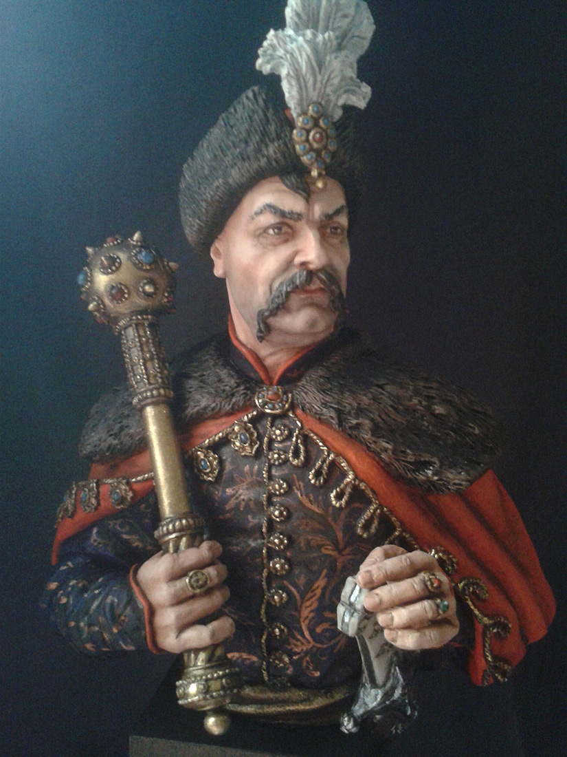 Figures: Bogdan Khmelnitsky, photo #1