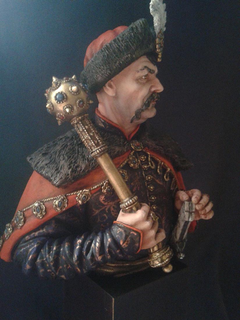 Figures: Bogdan Khmelnitsky, photo #2