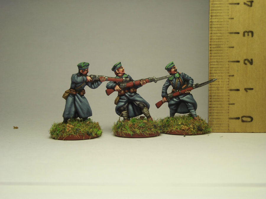 Figures: Army of J.Haller,  Soviet-Polish war, photo #14