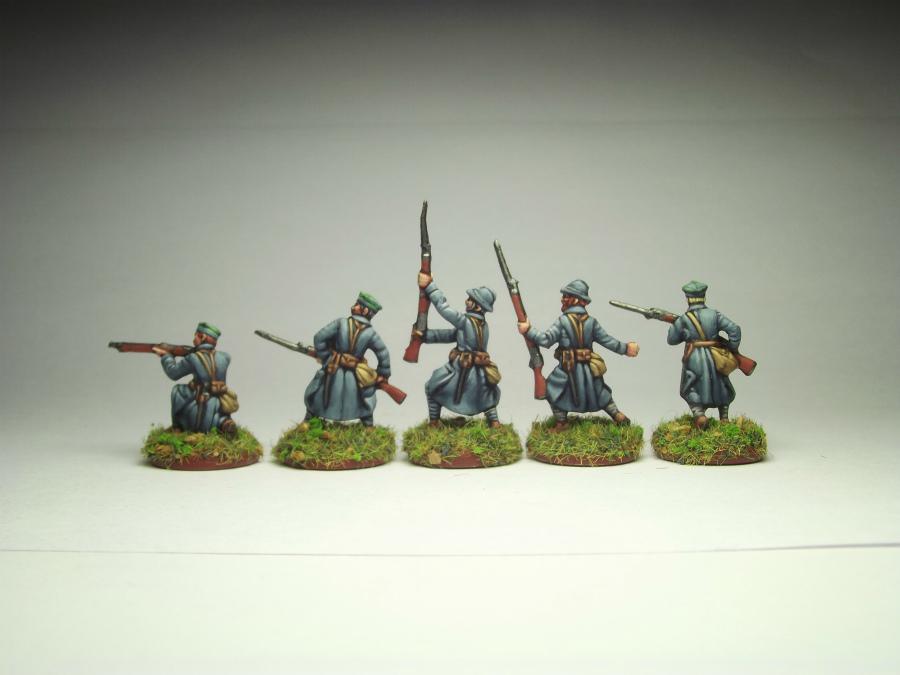 Figures: Army of J.Haller,  Soviet-Polish war, photo #2