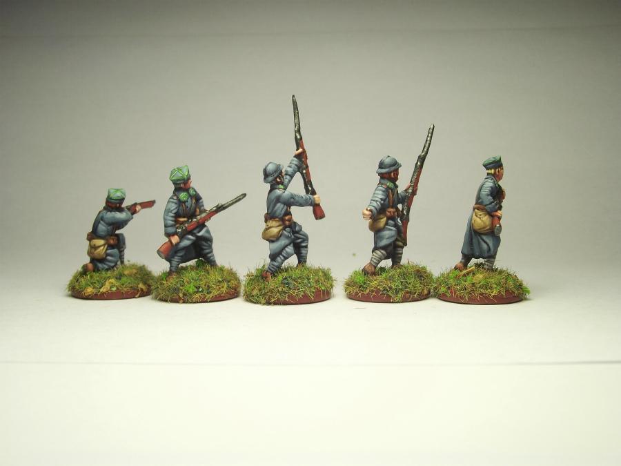 Figures: Army of J.Haller,  Soviet-Polish war, photo #4