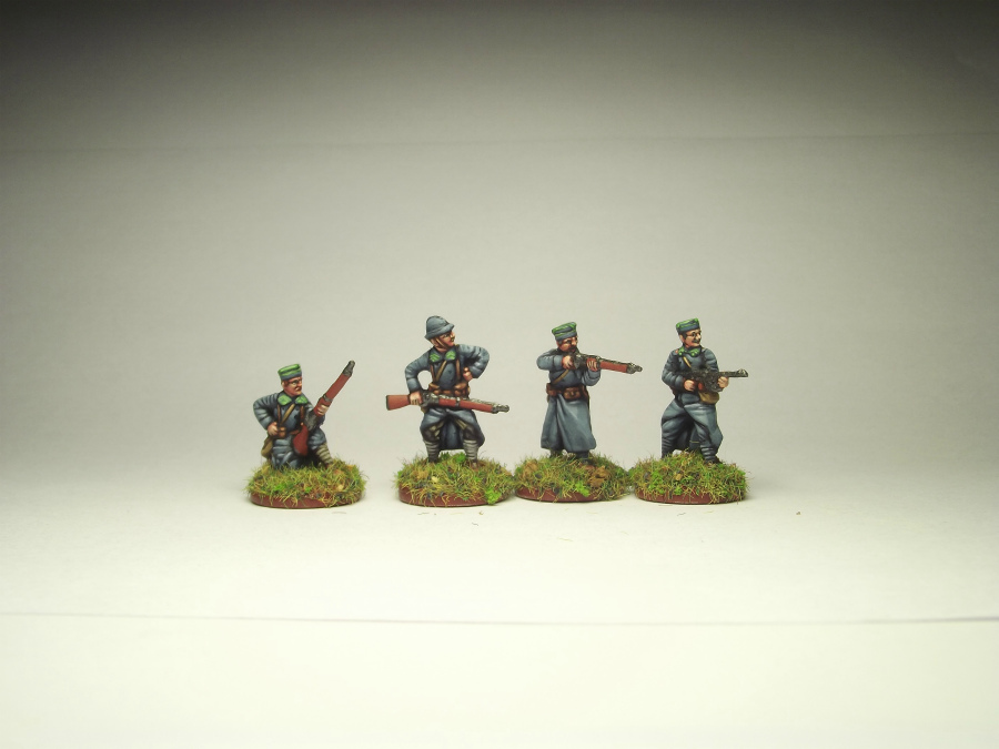 Figures: Army of J.Haller,  Soviet-Polish war, photo #5