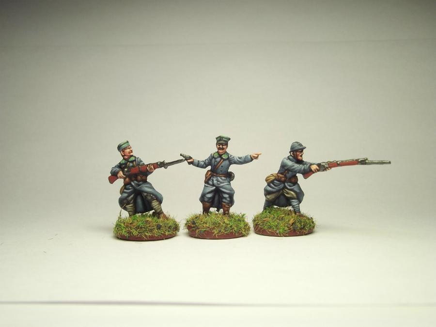Figures: Army of J.Haller,  Soviet-Polish war, photo #8