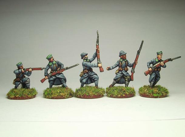 Figures: Army of J.Haller,  Soviet-Polish war