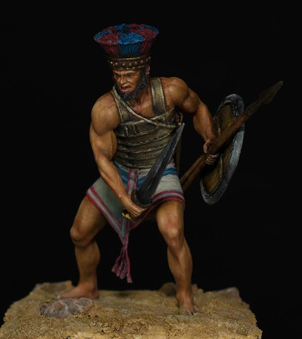 Figures: Ancient warriors