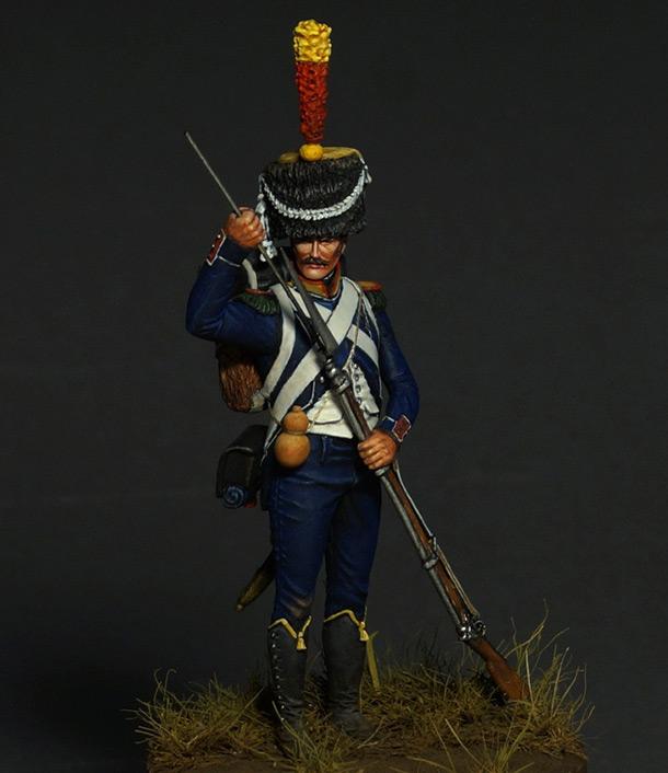 Figures: Voltigeur of light infantry, 1809-12