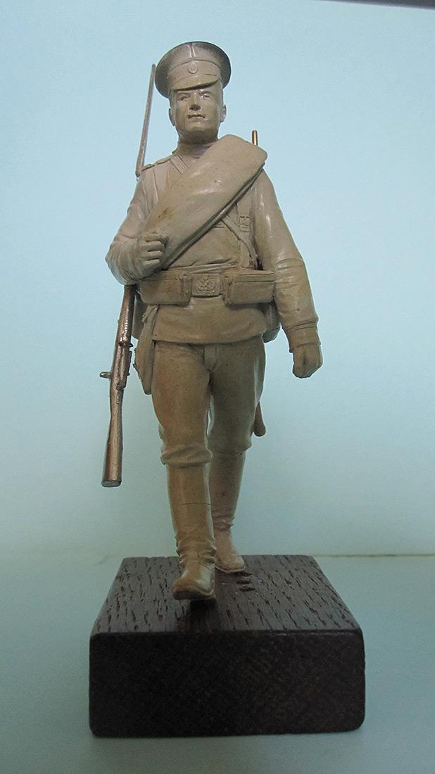 Sculpture: Guard infantryman, 1914, photo #1