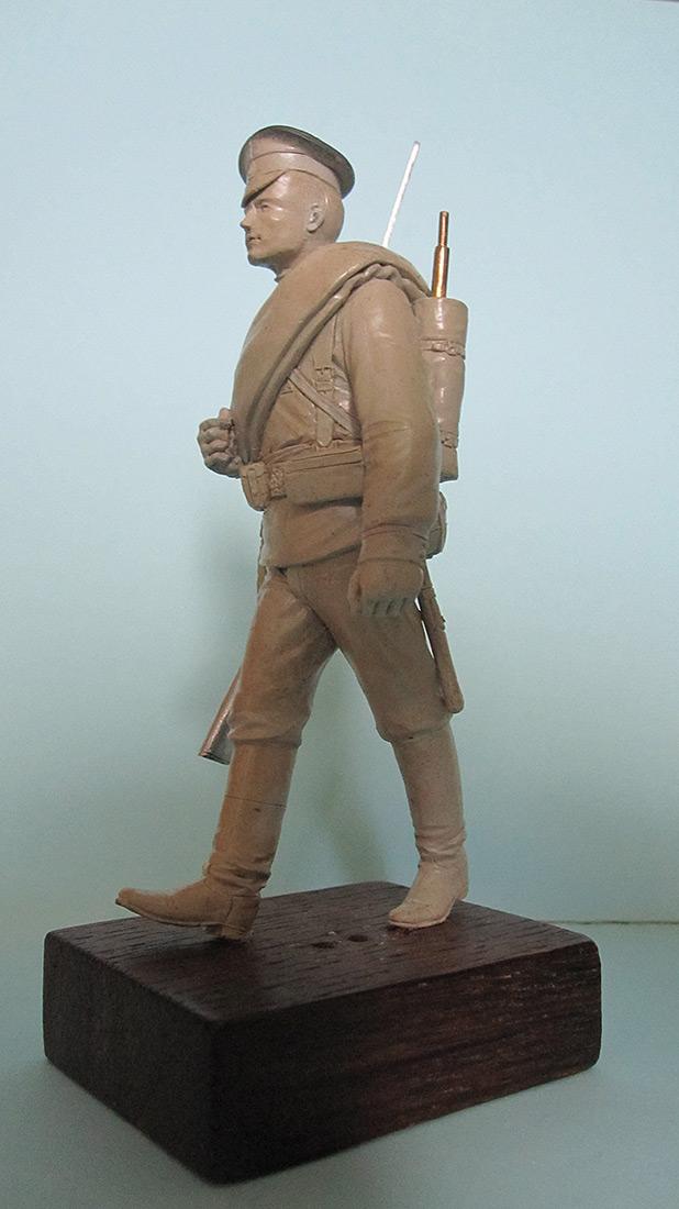 Sculpture: Guard infantryman, 1914, photo #2