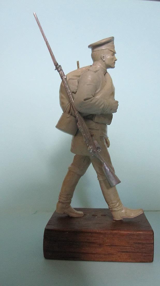 Sculpture: Guard infantryman, 1914, photo #3
