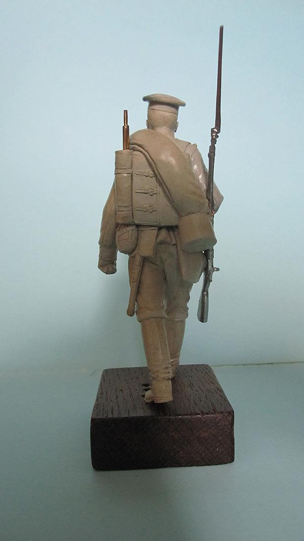 Sculpture: Guard infantryman, 1914, photo #4