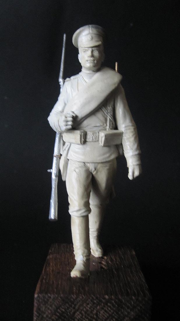 Sculpture: Guard infantryman, 1914, photo #5