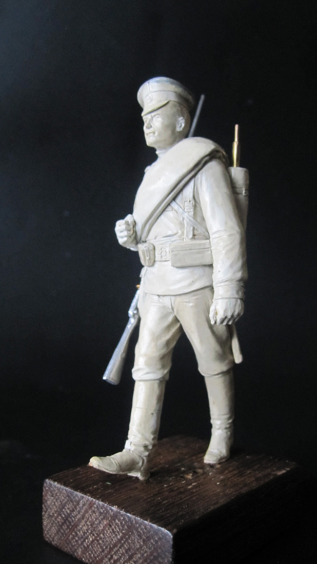 Sculpture: Guard infantryman, 1914, photo #6
