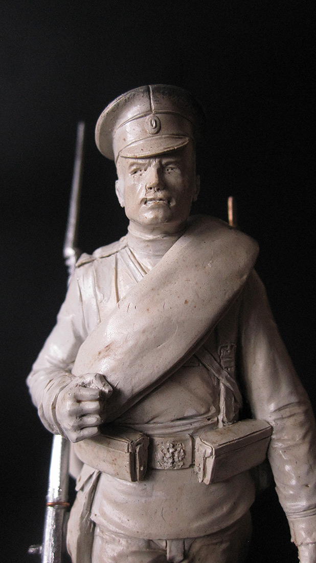 Sculpture: Guard infantryman, 1914, photo #7