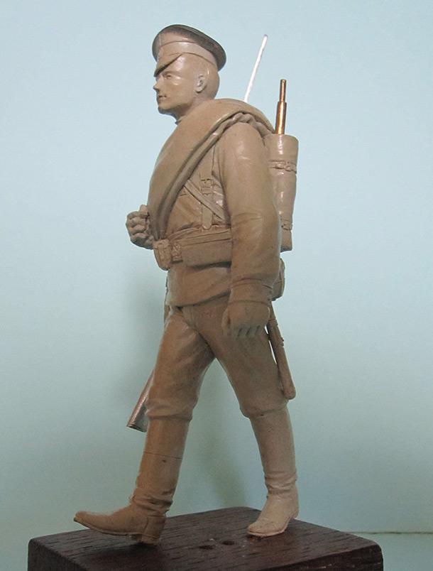 Sculpture: Guard infantryman, 1914