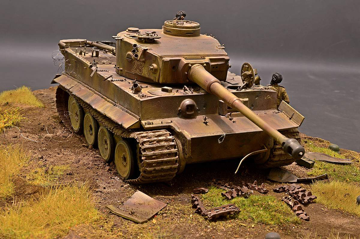 Dioramas and Vignettes: Fire Bulge. Star of Hero for a Tiger, photo #16