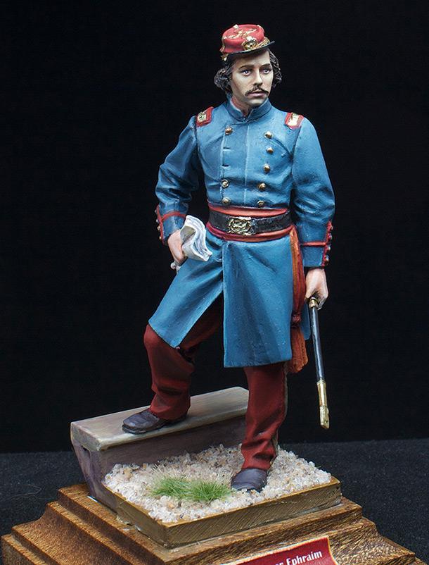 Figures: Colonel Elmer Ephraim Ellsworth, 1861