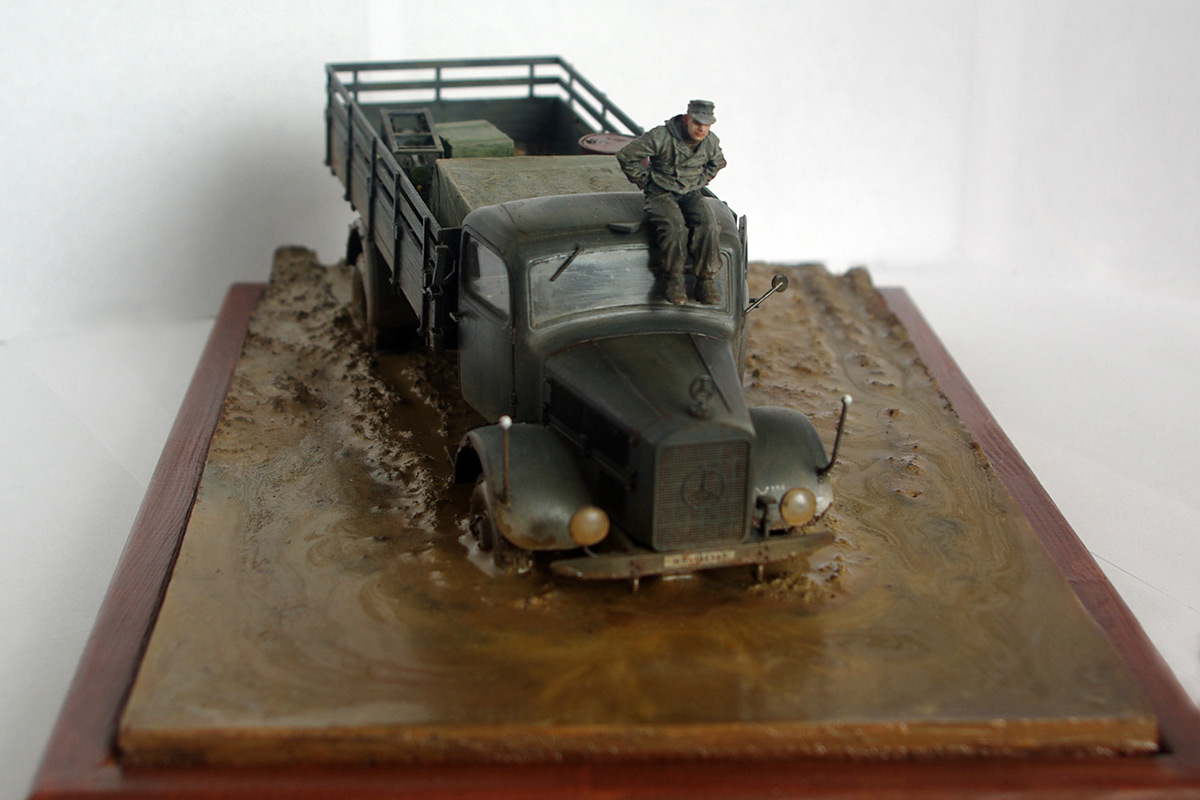 Dioramas and Vignettes: Road end, photo #4