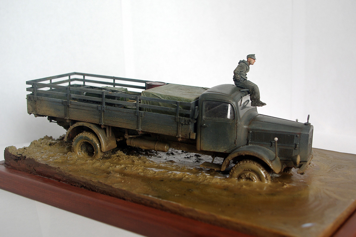 Dioramas and Vignettes: Road end, photo #6