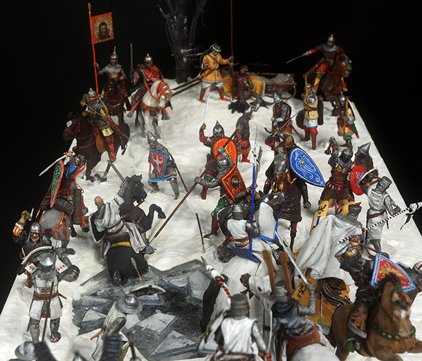 Dioramas and Vignettes: Battle on the Ice, 1242
